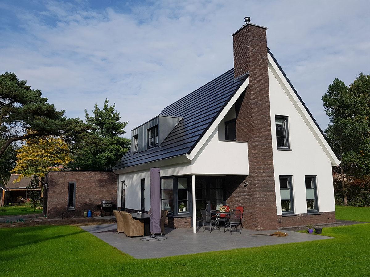 Nieuwbouw vrijstaande woning met garage westerbroek bouw for Nieuwbouw vrijstaande woning